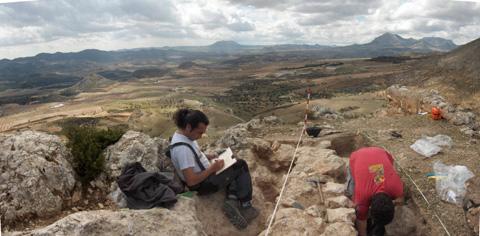 Castillo de tirieza lorca murcia arqueolog a medieval - Lorca murcia fotos ...