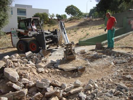 Intervenci n arqueol gica en el campus universitario de for Saneamientos granada