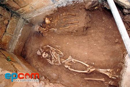 Excavaciones junto a la Iglesia del Salvador Not11burriana1G