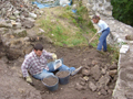 Foto de Continúan las excavaciones arqueológicas en el Castello di Solimbergo (Pordenone), Friuli-Venezia-Giulia en Italia